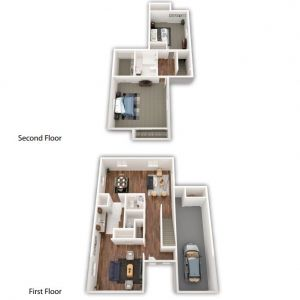 NV 2 BR Townhome